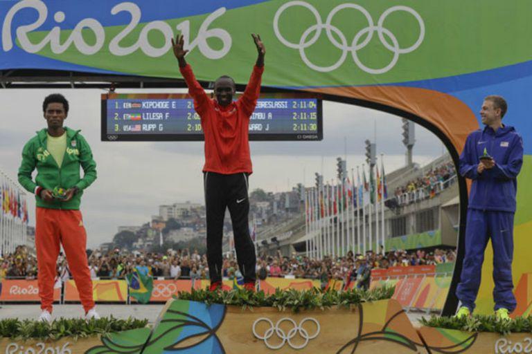 Campeón en Río 2016: Eliud Kipchoge en la gloria