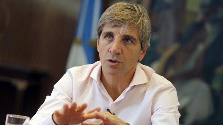 Luis Caputo, el secretario de Finanzas