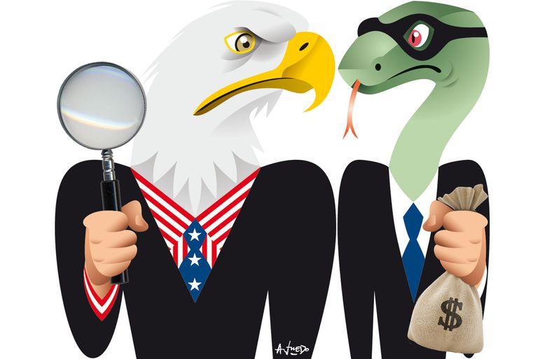 Estados Uniidos y las investigaciones sobre corrupción