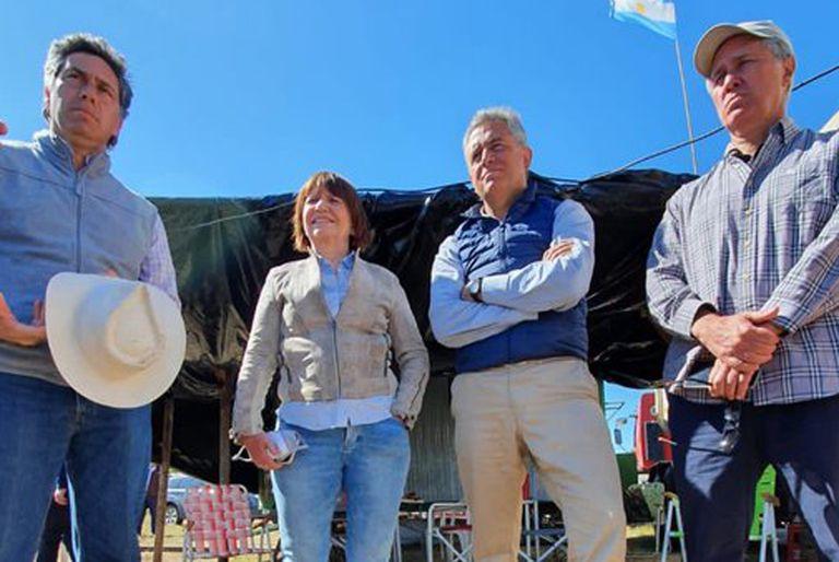"""Etchevehere. """"Fernández y Cristina Kirchner no creen en la propiedad privada"""""""