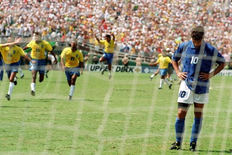 Roberto Baggio falla un penal y Brasil es campeón del Mundial Usa 1994