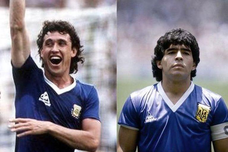 El Gol del Siglo de Maradona, contra Inglaterra... y con camisetas cosidas a mano