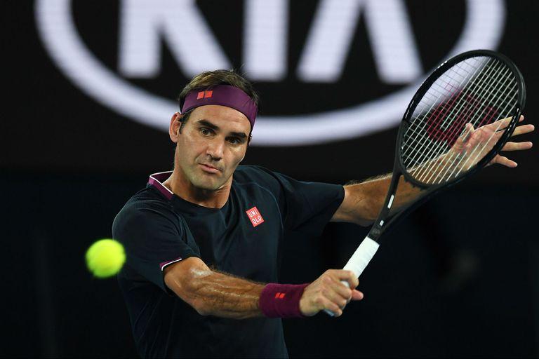 Roger Federer avanzó a la tercera rueda del Abierto de Australia.