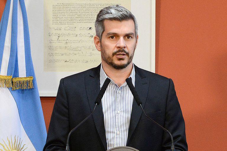 Marcos Peña quedó al frente de la Casa Rosada