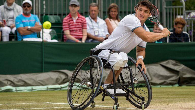 Gustavo Fernández accedió a la final en Wimbledon