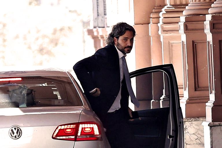 Santiago Cafiero ingresa esta mañana a la Casa Rosada