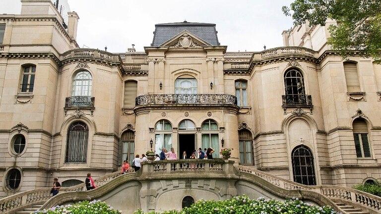 El Palacio Pereda, residencia del embajador de Brasil
