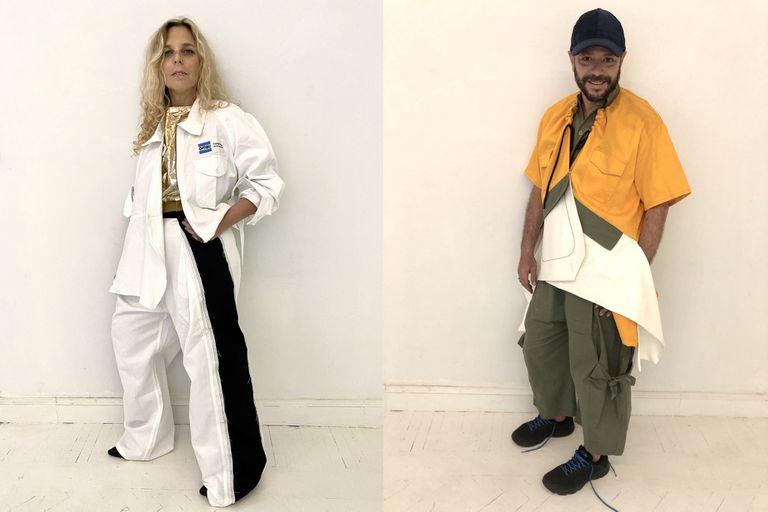Los referentes del diseño argentino volvieron a juntarse para crear la cápsula Jaramillo: nuevos diseños creados a partir de prendas en desuso