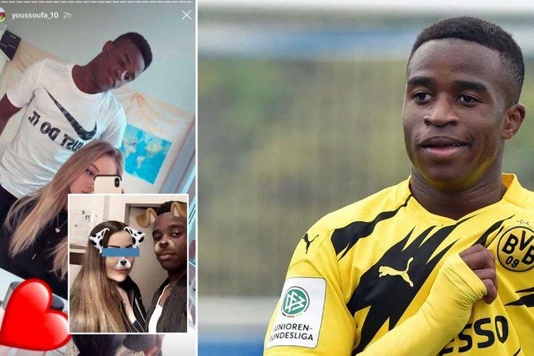 Escándalo: la gran promesa del Borussia Dortmund dejó encerrada a su ex novia