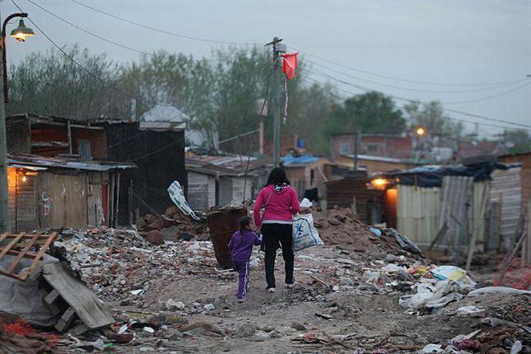 Según cálculos del ODSA, el 2,4% de la población infantil se encuentra en una marginalidad extrema