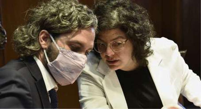 Santiago Cafiero y Carla Vizzotti