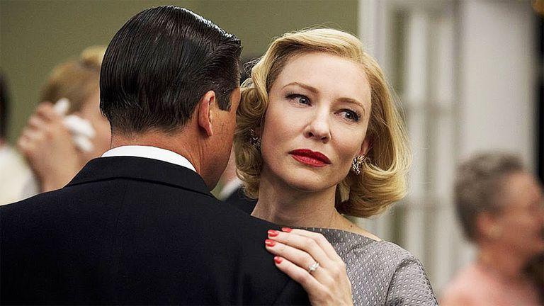 Una imagen de Cate Blanchett en Carol, el film que protagonizo en 2015 y le valió una nominación en Cannes.