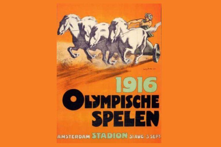El poster de Berlin 1916, del Juego Olímpico que jamás se realizó