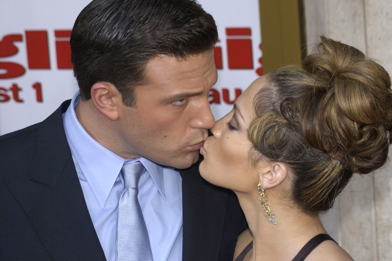 Flechazo instantáneo: con Jennifer Lopez se conocieron en el set de la película Amor Espinado