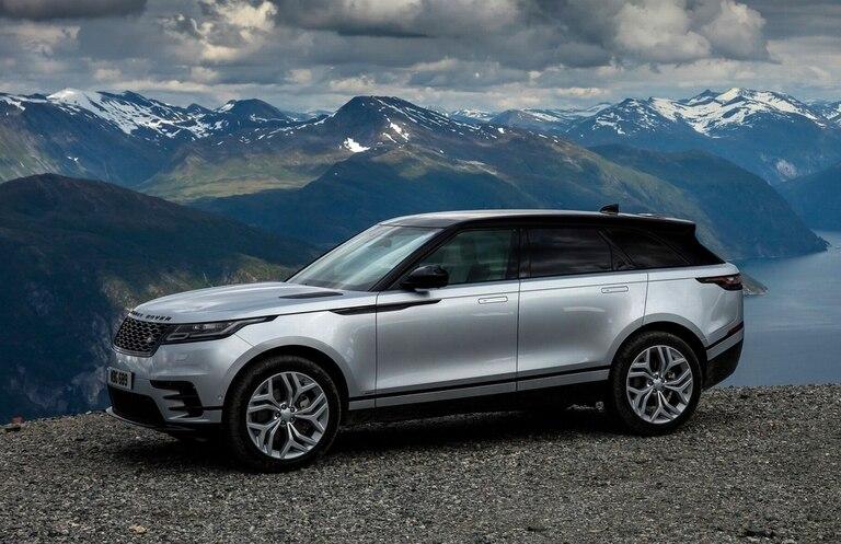 El Range Rover Velar