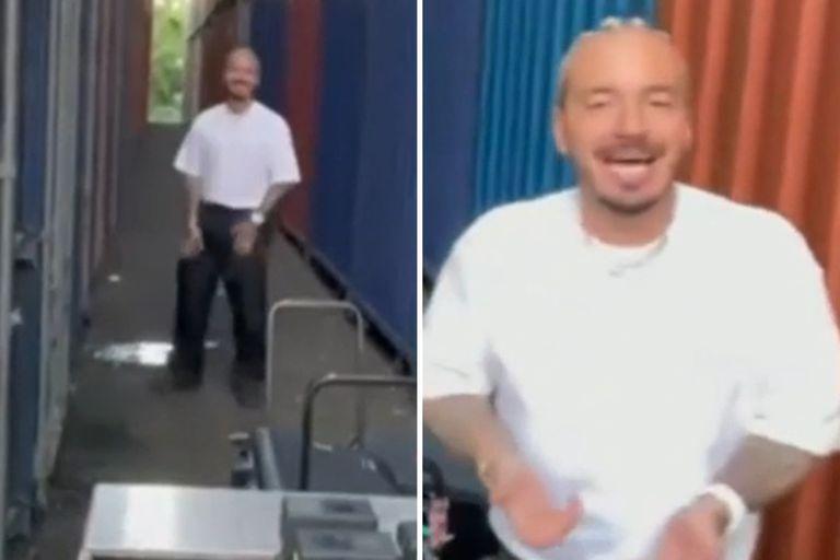 En un video de pocos segundos, J Balvin fue grabado mientras orinaba en el espacio público
