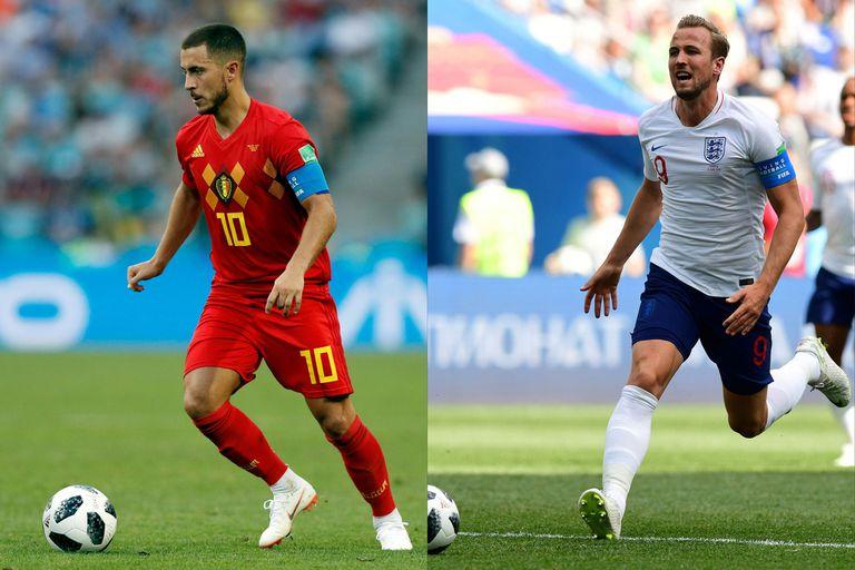 Inglaterra-Bélgica, Mundial Rusia 2018: horario, TV y formaciones