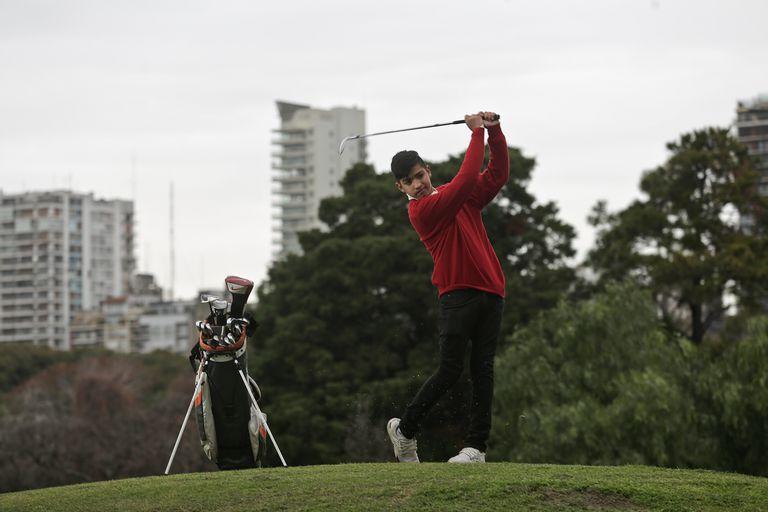 El amateur Dylan Reales apareció como una promesa del golf argentino