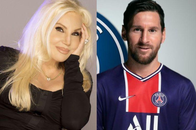 Susana Giménez le dedicó un mensaje de aliento a Lionel Messi, en esta nueva etapa que comienza en París