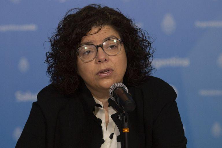 Carla Vizzotti, la segunda en la cartera comandada por Ginés González García, quien se encuentra a cargo del plan de vacunación