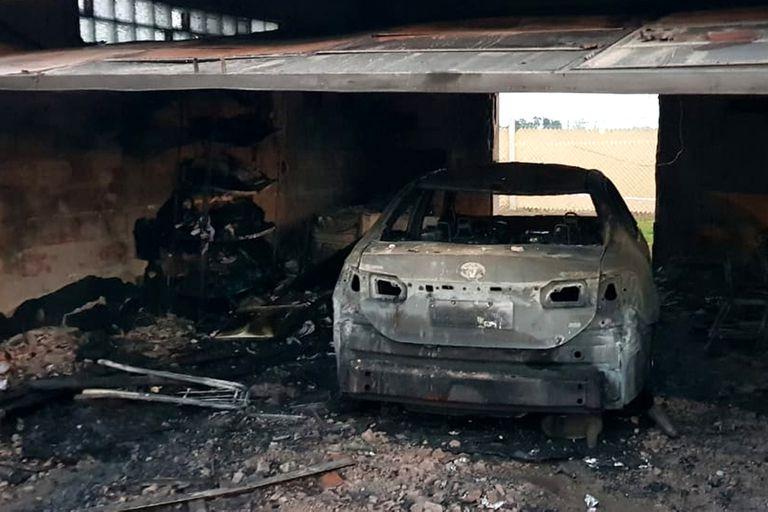 Un candidato macrista a diputado sufrió un incendio intencional