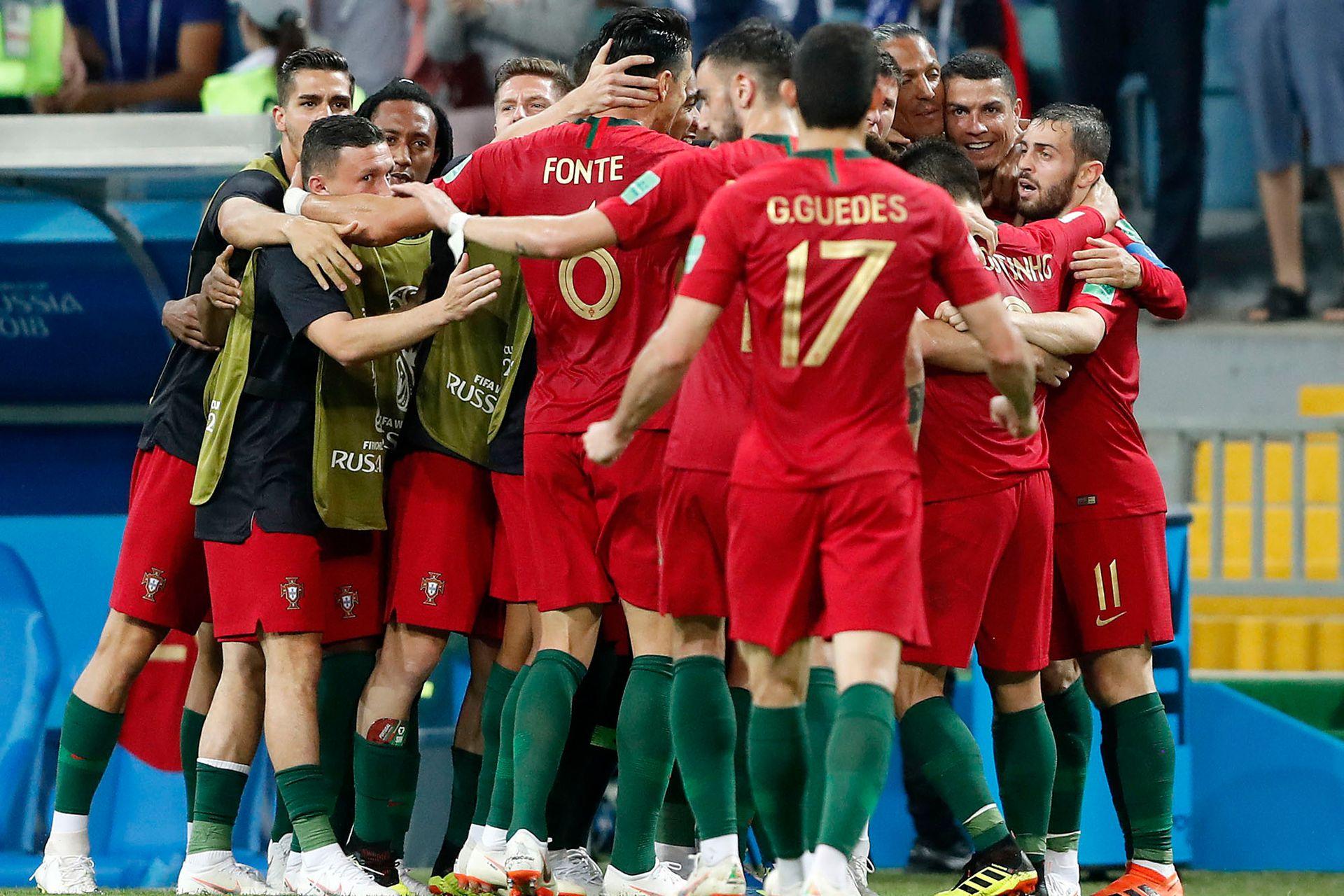 Segundo gol de Portugal