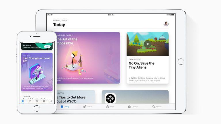 El nuevo aspecto de la tienda de aplicaciones de iOS