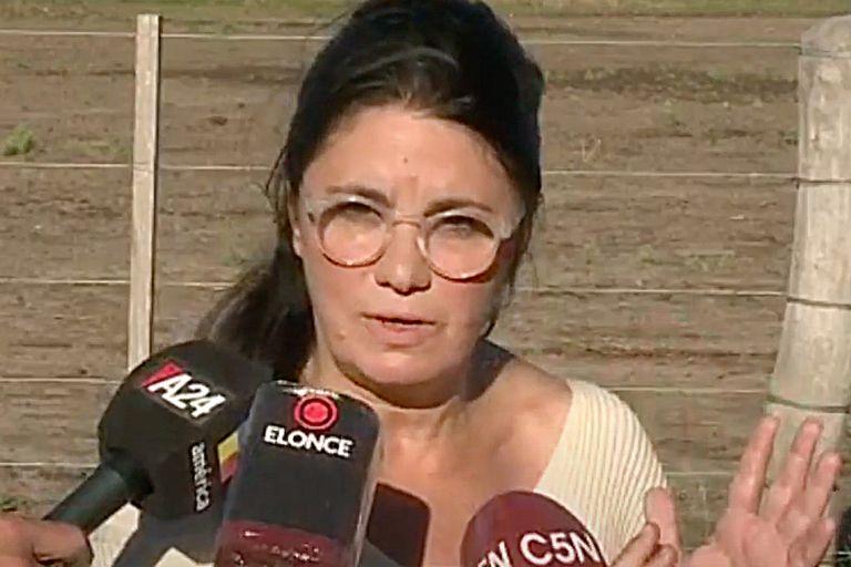 La hermana de Luis Miguel Etchevere habló desde el campo de Entre Ríos que se disputa con el exministro