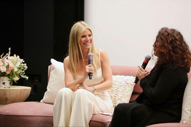Gwyneth Paltrow presentó en Los Ángeles el documental The Goop Lab