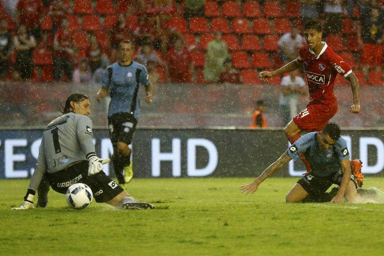 El gol del Rojo: Rígoni ya tocó y Olave queda descolocado