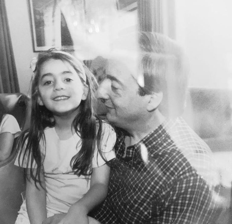 Florencia Kirchner y Néstor Kirchner