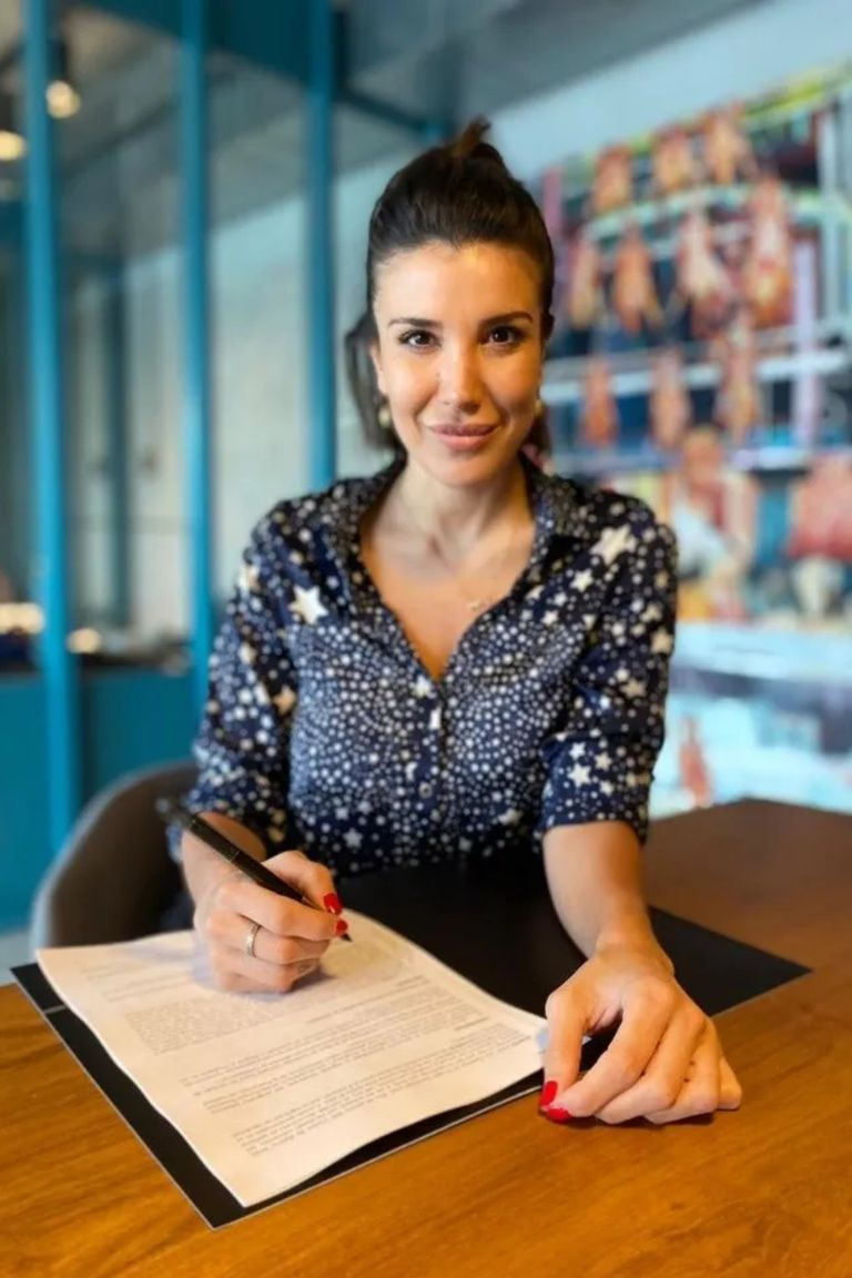 Andrea Rincón firmó contrato para participar en MasterChef Celebrity II