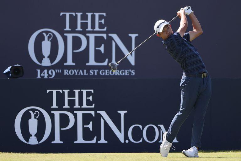 Collin Morikawa va por otro impacto como el que dio en el PGA Championship 2020