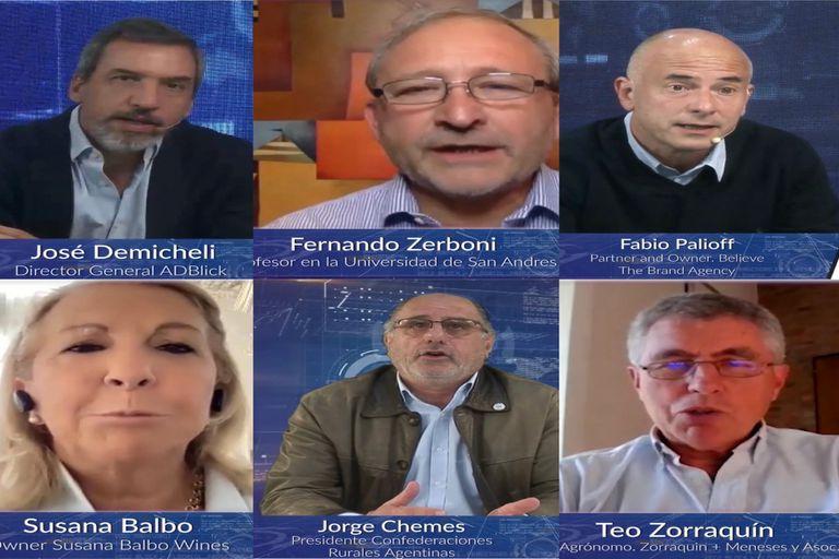 """Los participantes del seminario """"Argentina Visión 2040"""""""