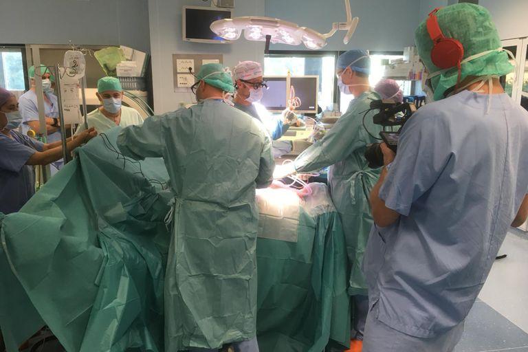 Los médicos realizaron la intervención en junio