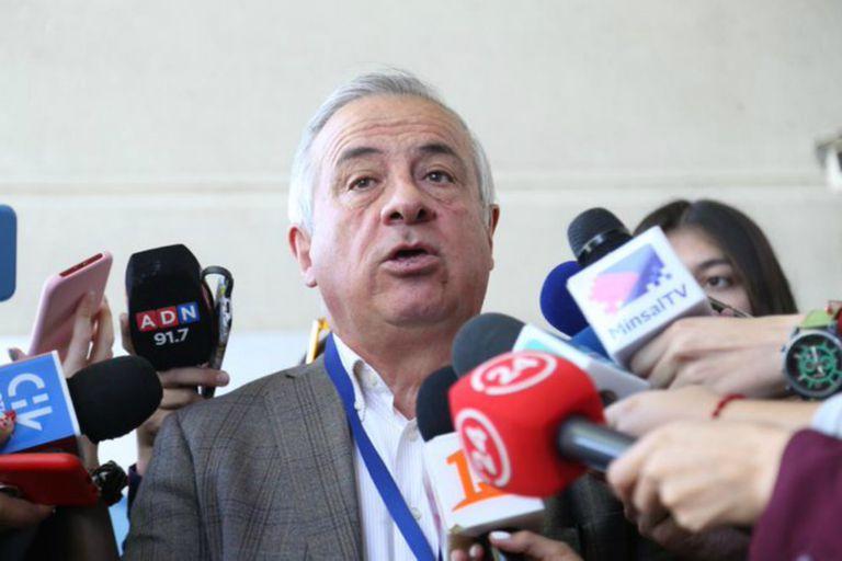 El ministro de Salud chileno, Jaime Mañalich