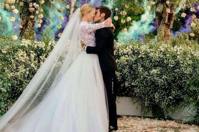 Así fue la lujosa boda de la influencer italiana Chiara Ferragni