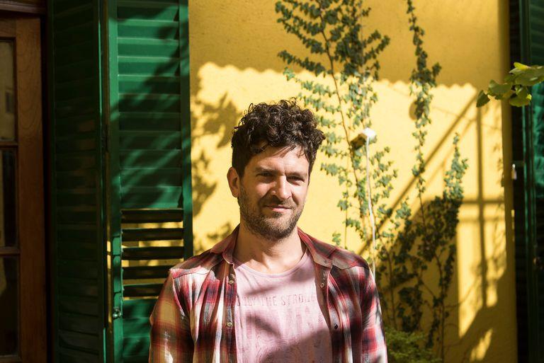 Manuel Vignau, dramaturgo y director teatral. Buenos Aires.