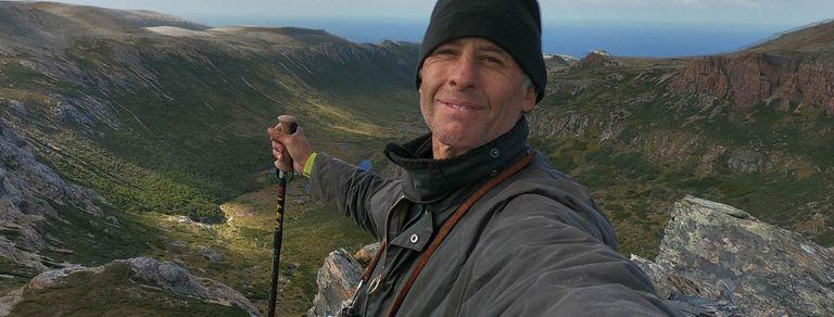 Aventura extrema. El fotógrafo que quiso atravesar Tierra del Fuego a pie