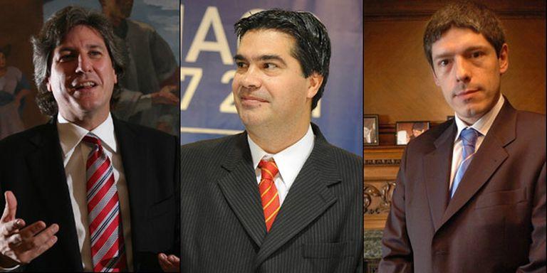 Amado Boudou, Jorge Capitanich y Juan Manuel Abal Medina, son algunos de los candidatos a vice