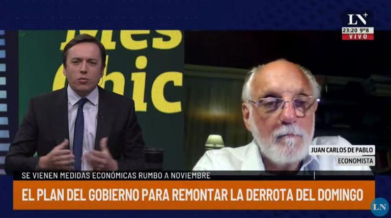 La irónica recomendación de De Pablo a Alberto Fernández