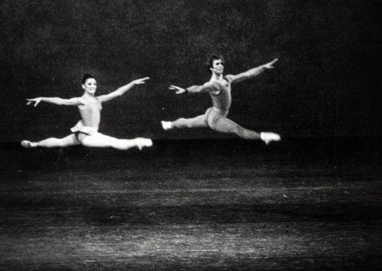 """En """"Concerto"""", de Kenneth MacMillan, en los años '60, cuando el genial coreógrafo dirigió la compañía de Berlín"""