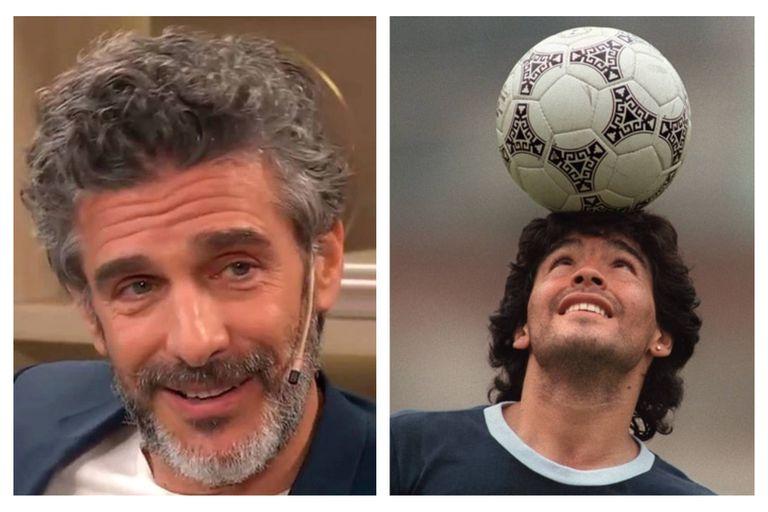 Sbaraglia reveló el día en que hizo enojar a Maradona en un picadito