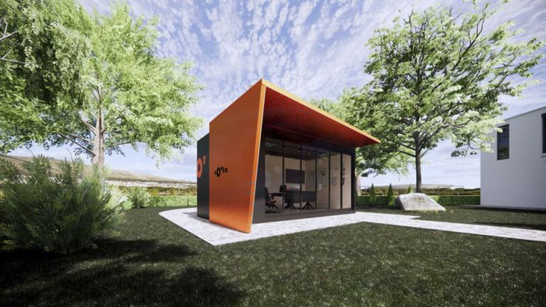 Solución home office: una oficina para alquilar y armar en el patio de tu casa
