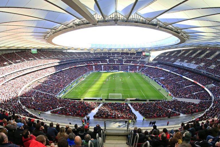 El Wanda Metropolitano no lucirá como en sus mejores días