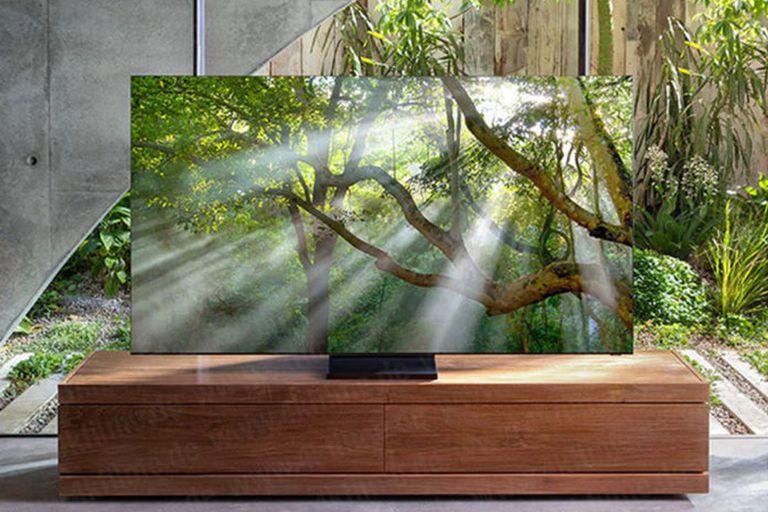 La imagen filtrada del televisor sin marcos que obtuvo el sitio 4kfilme.de