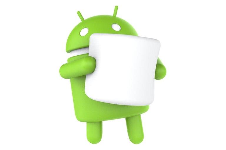El androide junto a un malvavisco fue la imagen elegida por la compañía para presentar el nombre de la sexta versión del sistema operativo móvil de Google