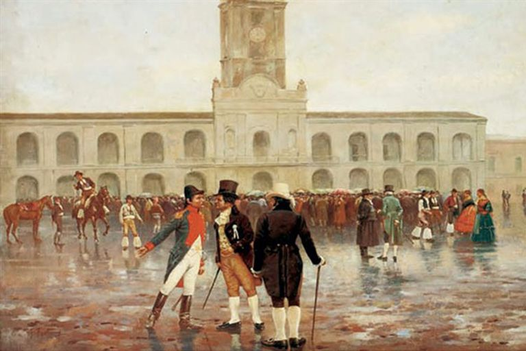 El 18 de mayo de 1810 comenzó la semana fundacional de la república