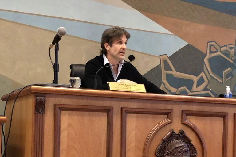 Segundos Cernadas (Juntos), durante uno de sus mandatos como concejal de Tigre.