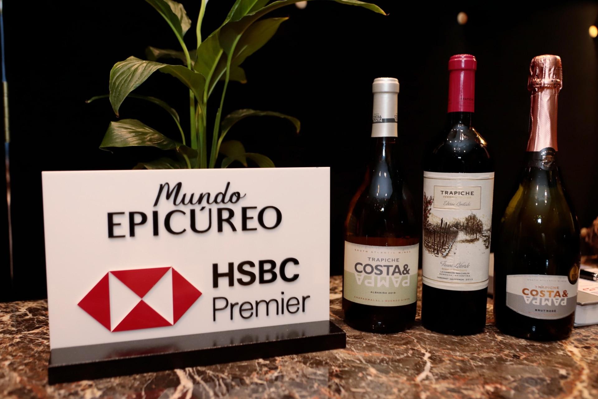 Hace ya dos años que Trapiche forma parte del programa Mundo Epicúreo de HSBC.